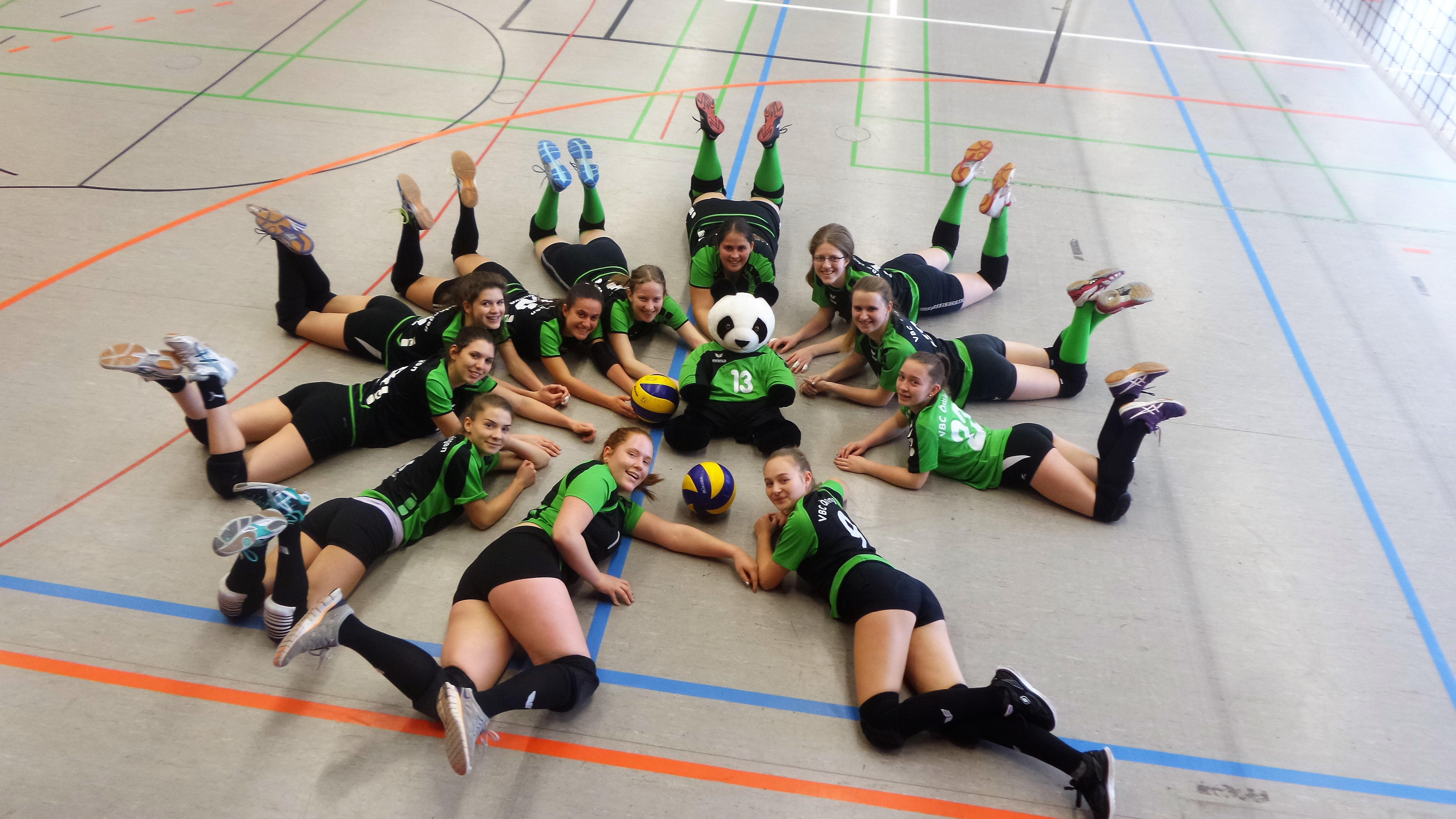 Damen 2. Ein glückliches neues Jahr! /// Volleyballclub Östringen